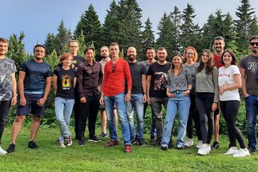 Group of Microsoft engineers in Prague