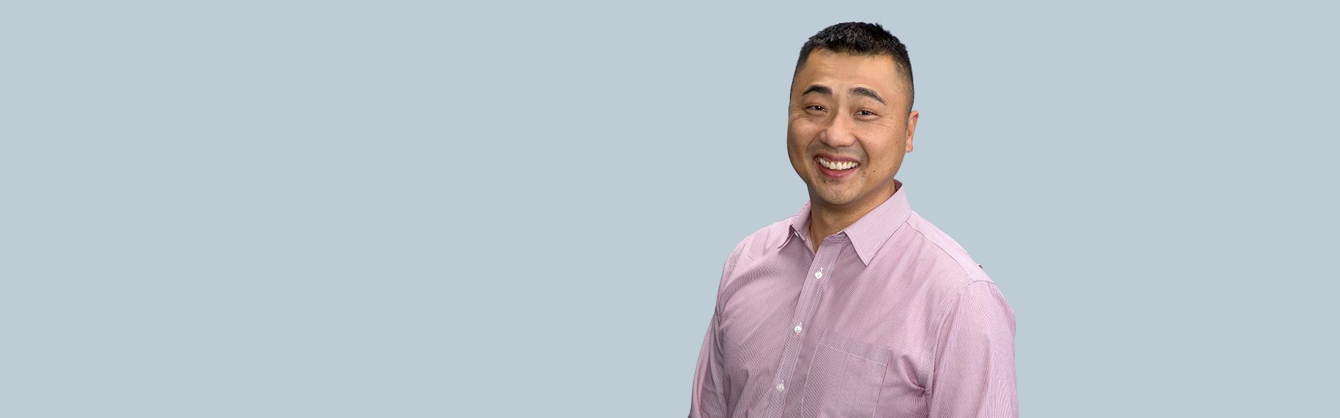 John Cho of Microsoft
