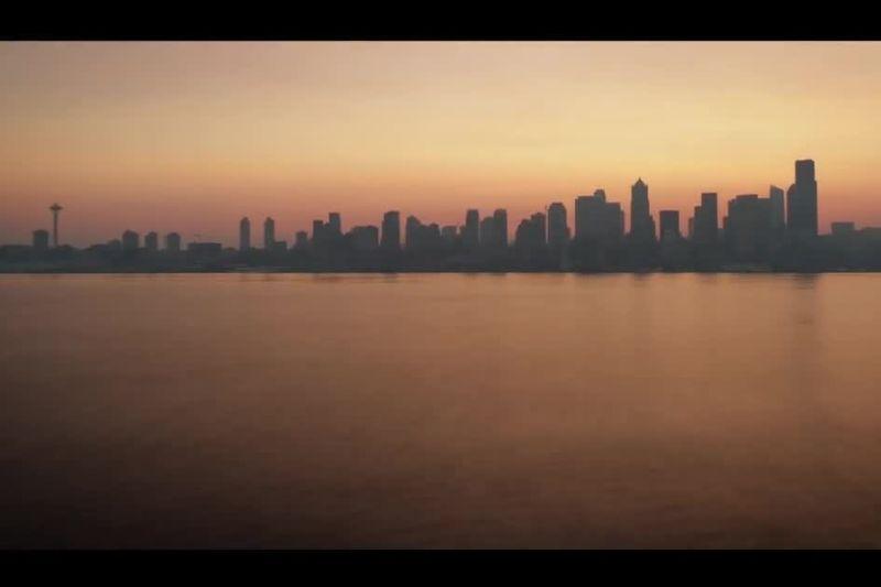 Photo of Seattle skyline at dusk