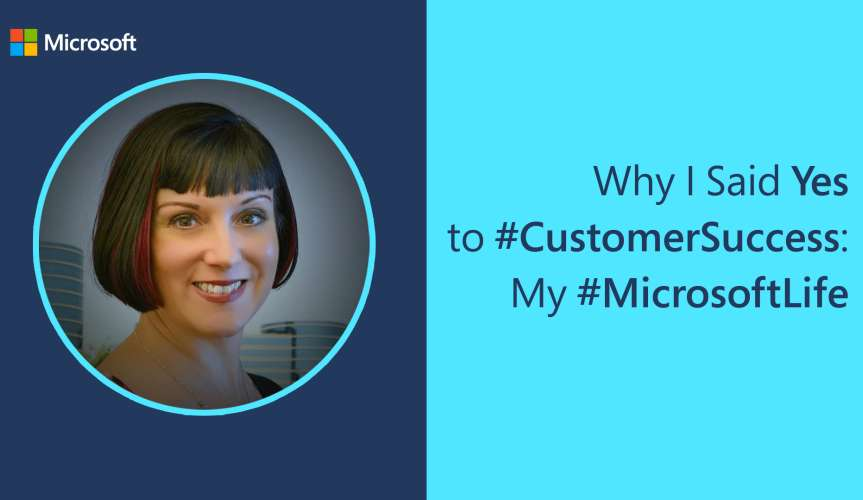 photo of Microsoft employee Kellyn - Why I say yes to #CustomerSuccess: My #MicrosoftLife