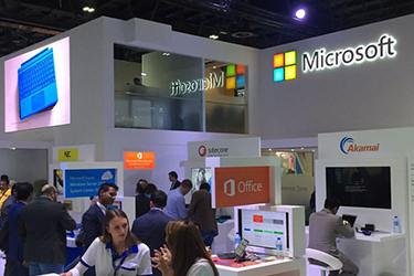 Microsoft showcased at Dubai GITEX 2016