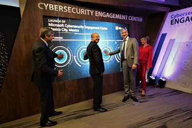 Microsoft Mexico Cybersecurity center opening