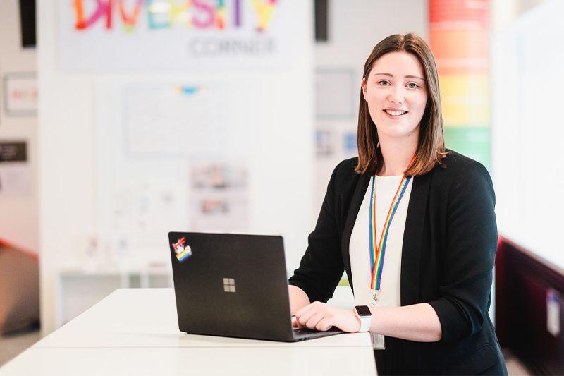 Photo of Microsoft employee Tiffany