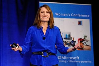 Peggy Johnson of Microsoft