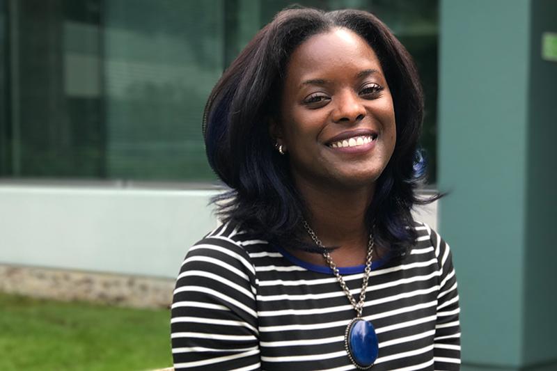 Kiesha Garrison of Microsoft