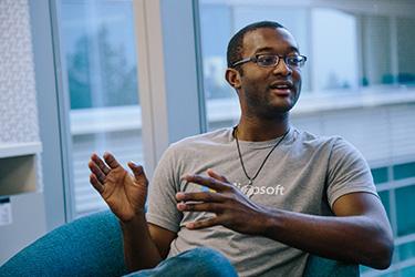 Bayo Olatunji of Microsoft