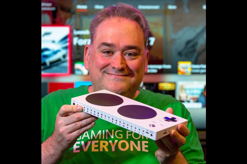 Photo of Microsoft employee