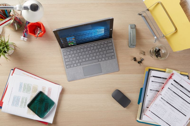 Photo of items on a desktop