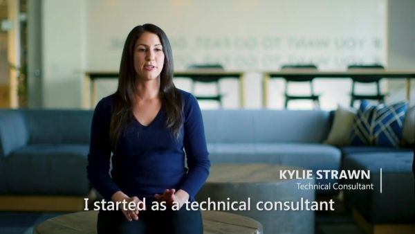 Photo of Microsoft employee Kylie Strawn