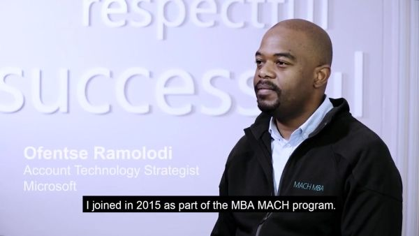 Photo of Microsoft employee Ofentse Ramolodi